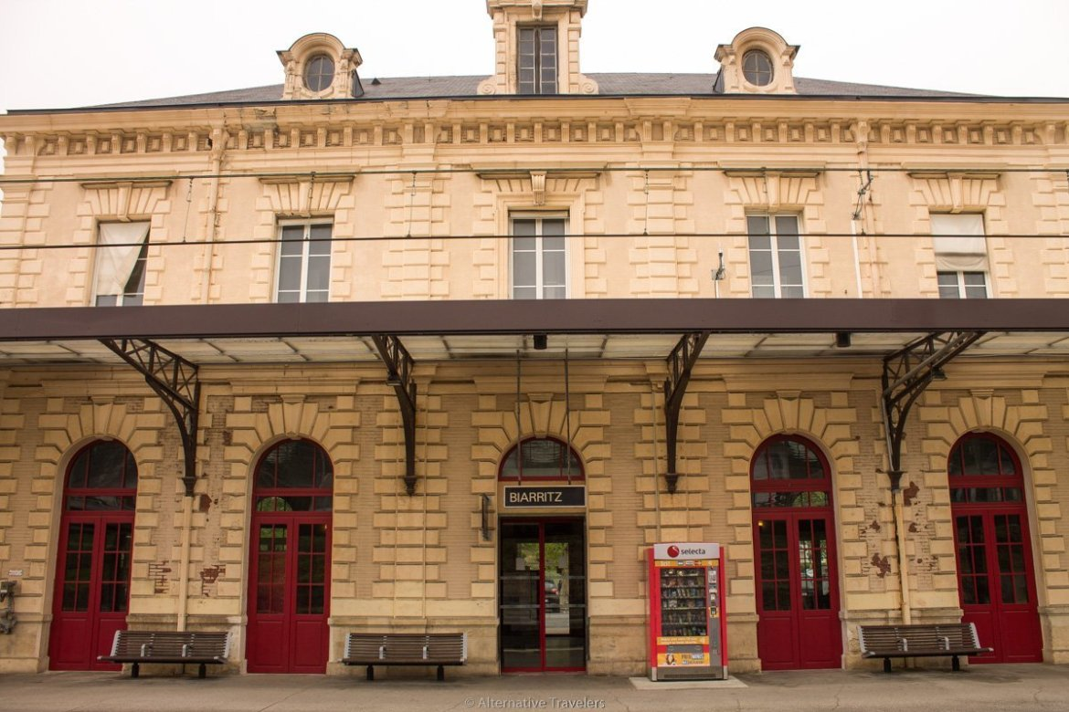 Biarritz Train Station