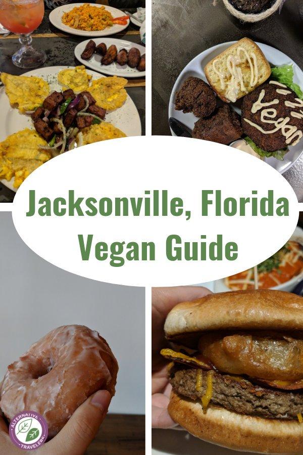 Vegan Guide to Jacksonville, Florida! Discover the best vegan restaurants in Jacksonville, an amazing vegan bakery, and plenty of vegetarian Jacksonville restaurants, along with spots that have veg-options. #VeganTravel