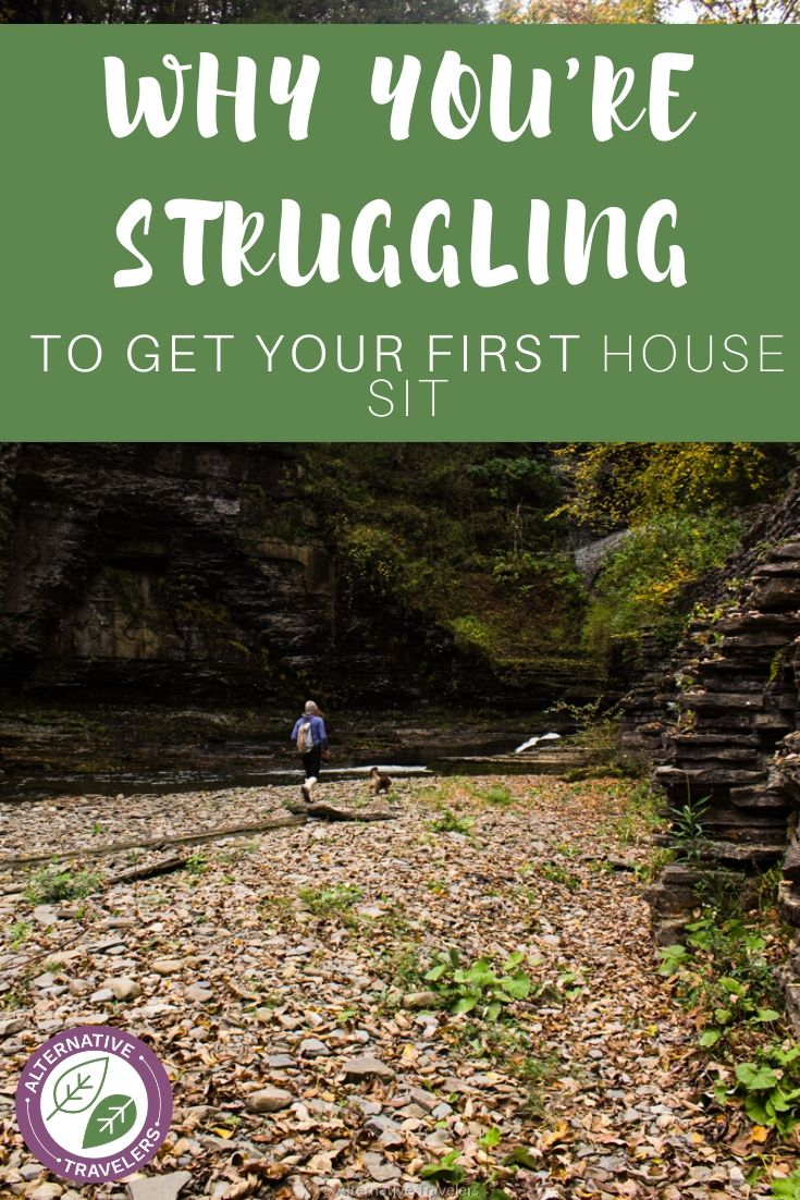 Struggling to get a house sit as a newbie? Read on for our tips on how to avoid the first house sit slump! #housesitting #digitalnomad