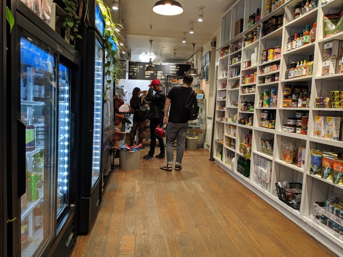 Orchard Grocer interior