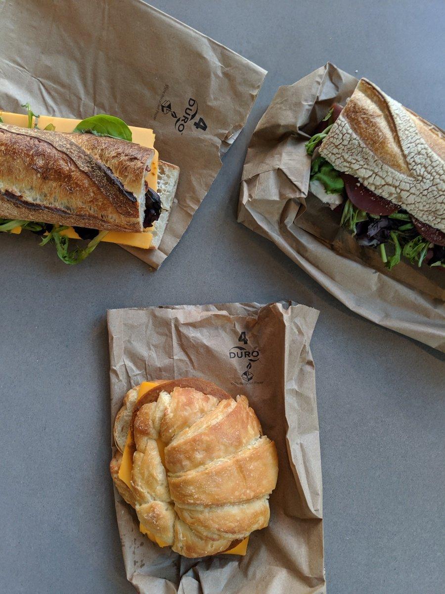 vegan sandwiches from Riverdel