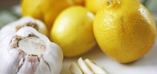 Citron a cesnek