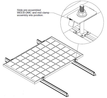 WEEB-DMC for IronRidge, DPW & Low-Lip Unirac (Compression