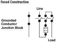Eaton DH161NRK 600VDC, 30 Amp Fusible Disconnect