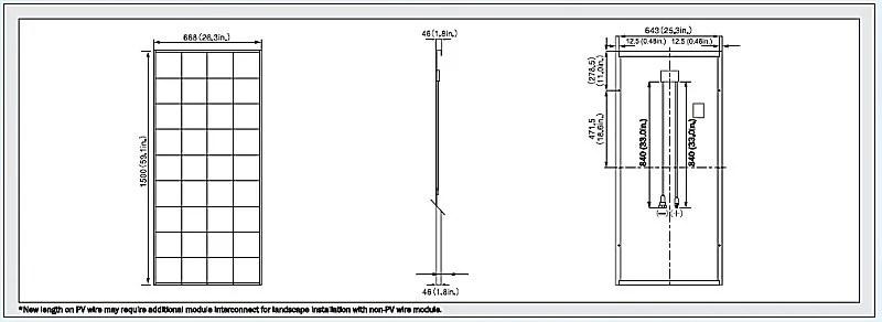Kyocera KD135GX-LPU 135 Watt Solar panel