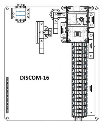 Solectria DISCOM-16X Disconnecting String Combiner, NEMA 4