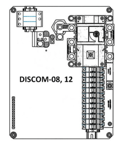 String Combiner with Integrated DC Disconnect, 8-fuse, NEMA 3R