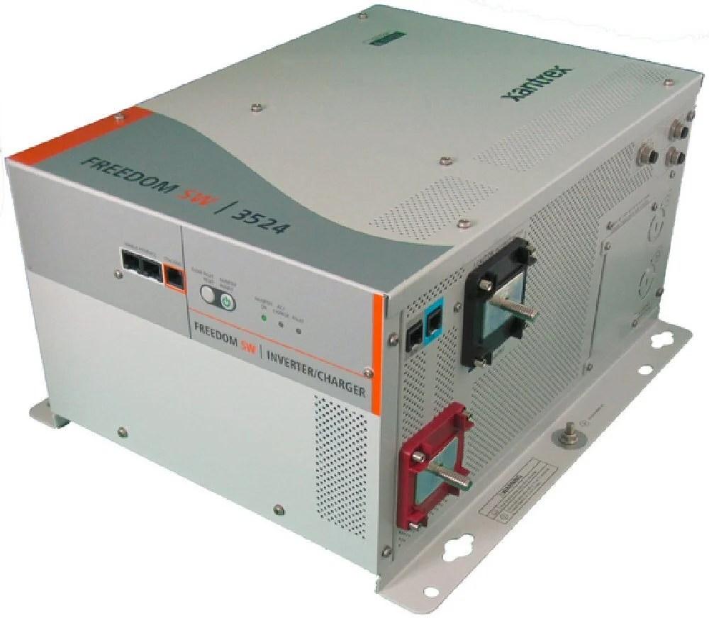 medium resolution of xantrex freedom sw3524 inverter charger alte
