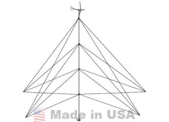 Southwest Wind Power 65FT Whisper 100/200 Guyed Tower Kit