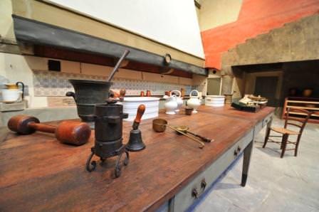 Le cucine reali a Firenze e Torino