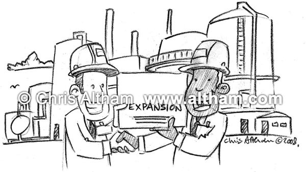 Petrolium Fuel Cartoons