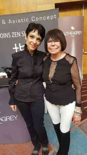 Nicole Sinet et Miriam Kallayova