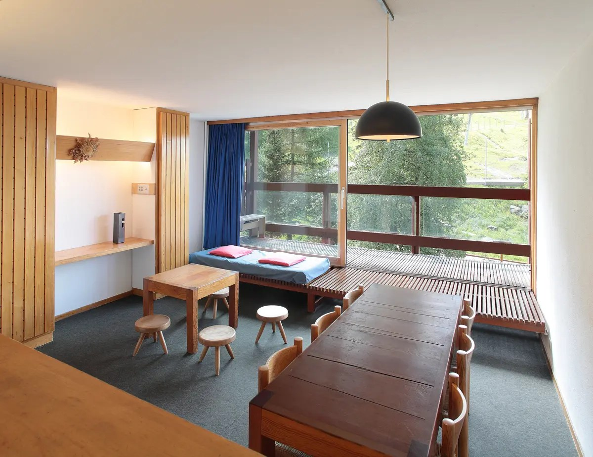 Aux Arcs un appartement Charlotte Perriand  AltiMAG