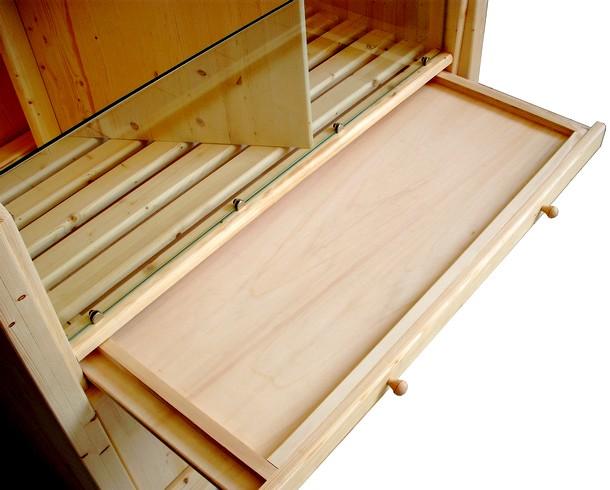arredamenti serie legno massello panetteria cesti pane