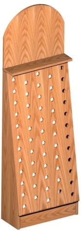 listino prezzi componenti scaffali con piano porta mensole