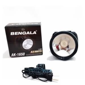 Linterna Minera Batería Recargable 3 watts Bengala AK1650