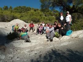 Club randonnée dans le 06, Altiplus; 30 octobre 2016 : les Terres Grises de Berre les Alpes; Baisse de la Croix