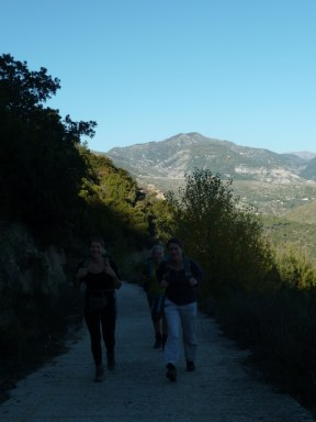 Club randonnée dans le 06, Altiplus; 30 octobre 2016 : les Terres Grises de Berre les Alpes