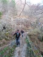 Altiplus , club randonnée dans le 06, 11 décembre 2016 : Le Mont Saint Michel et le circuit des crèches de Luceram, pont de Founta