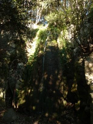 ALTI+ Club Randonne dans le 06 - Le Mont Bastide (rando écolo) 18/12/2016 - la cascade cacher