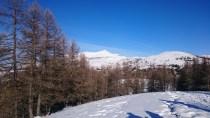 Le Mont Mounier domine le paysage