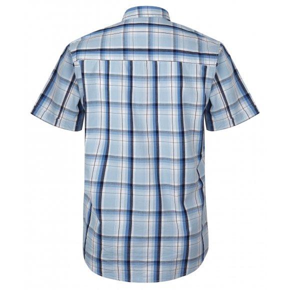 4e2d51bad15 Pánská bavlněná košile Loap Kolt je vyrobena z kvalitního materiálu a je  vhodná na nošení do města i volný čas. Košile disponuje volnějším střihem a  ...