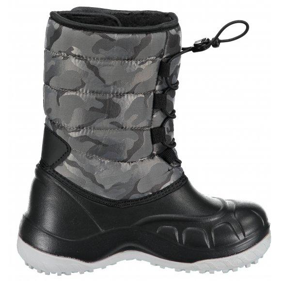Dětská zimní obuv Alpine Pro Amaro je vyrobena z vysoce kvalitního  syntetického materiálu. Celá spodní část je navíc opatřena odolnou gumou efaba66336