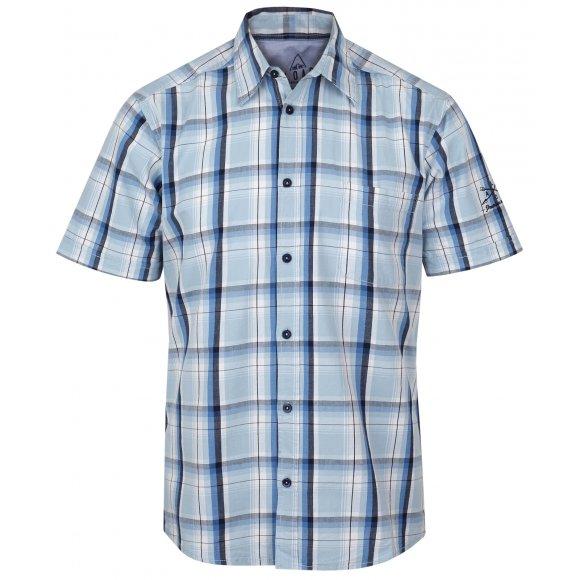 ed8db4b6a23 Pánská Košile S Krátkým Rukávem Loap Kolt Clm1724 Bílá (CLM1724A14X-S) od  Altisport