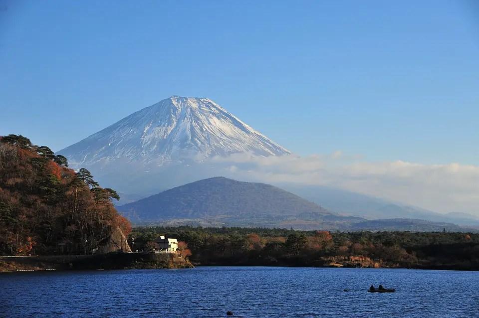 cratère du mont fuji
