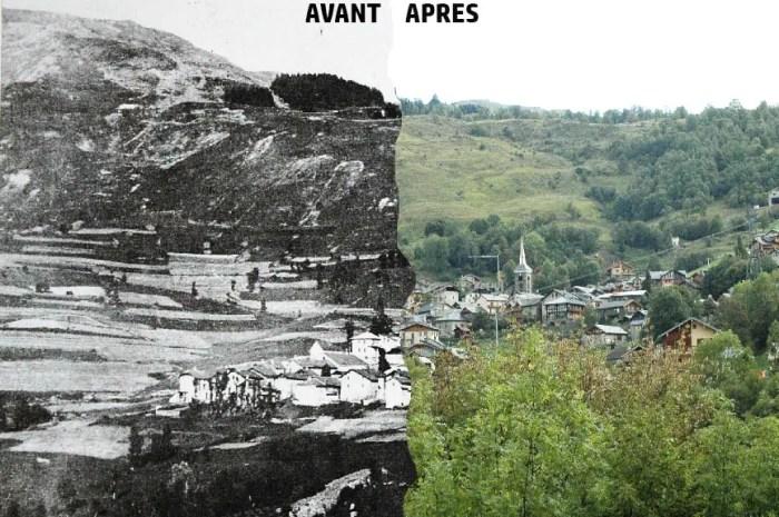 La montagne change : les paysages à l'épreuve du temps !