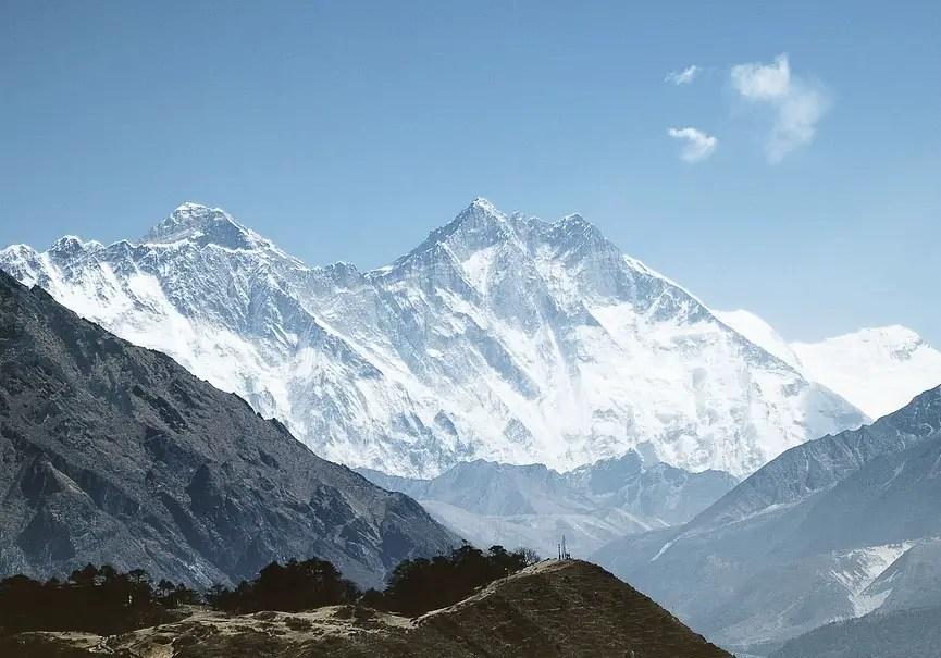 himalaya sommets