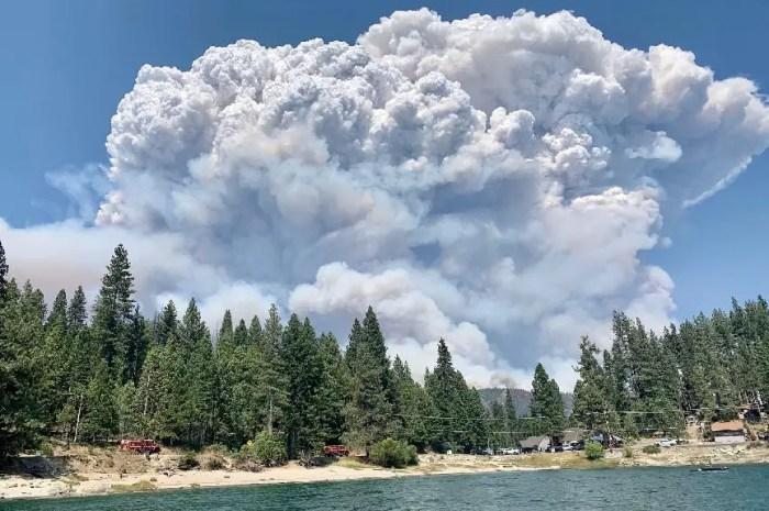 Les incendies contraignent une station de Californie à fermer !