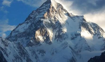 vue sur le K2