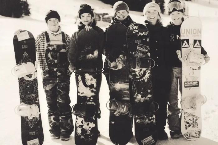 Les snowboardeuses à l'honneur dans Heroes de Jérôme Tanon