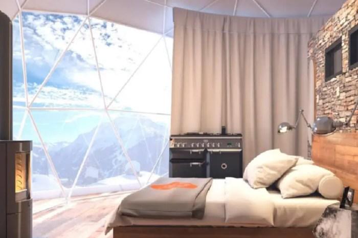 Une résidence ouvre à La Rosière et propose des appartements-igloos !