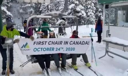 ouverture canada ski