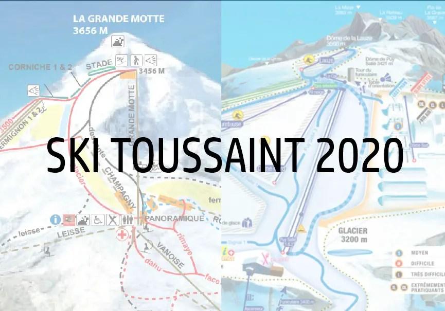 ski toussaint 2020