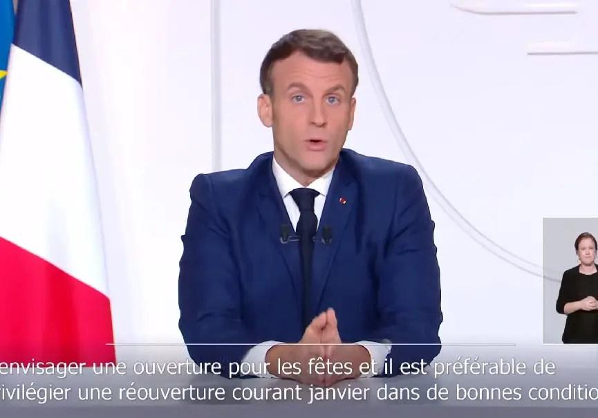 Macron ski 2020