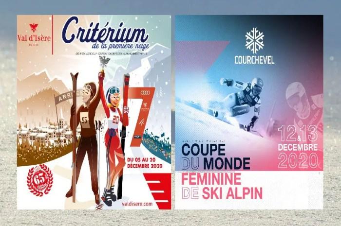 Coupe du monde de ski sans public à Val d'Isère et Courchevel en décembre !