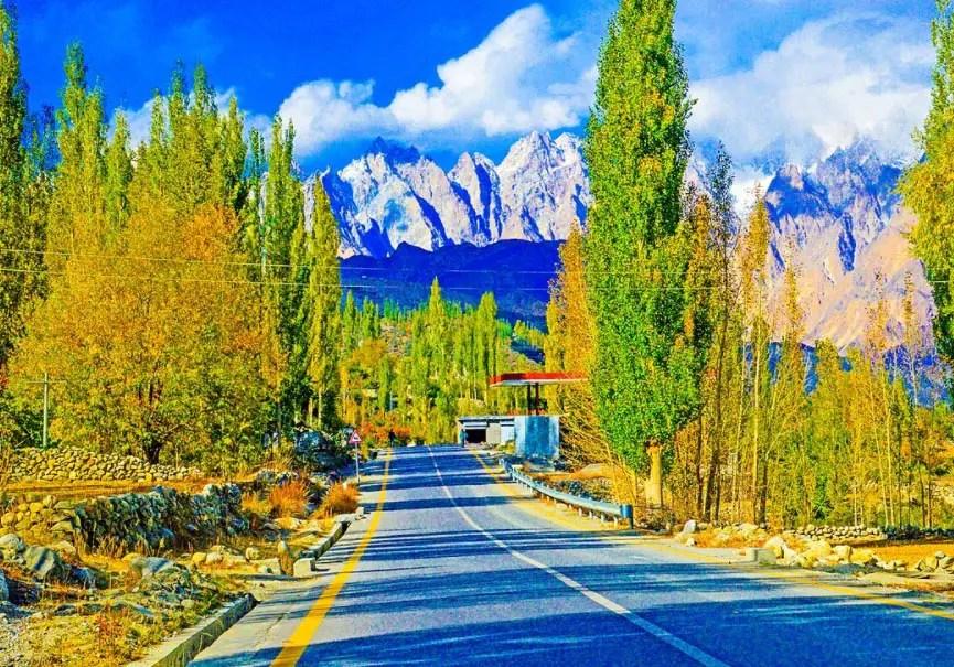 Paysage de Gilgit Baltistan