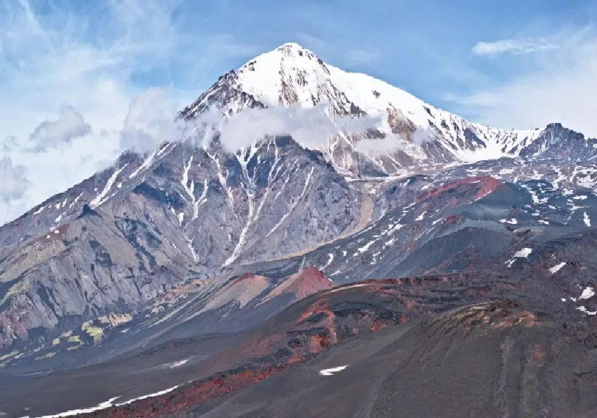 Volcan Tolbachik Kamtchatka
