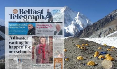 Belfast Telegraph K2