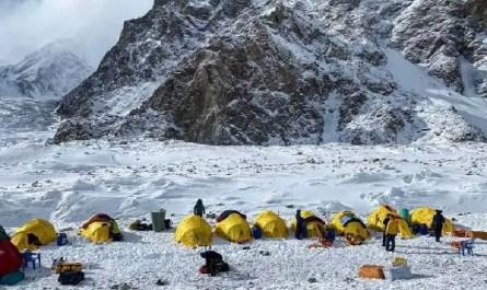 Camp de base du K2 hiver