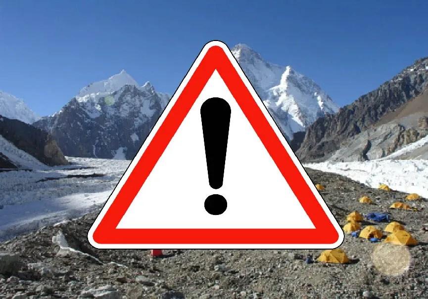 Danger au K2