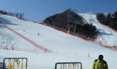 ski Corée du sud
