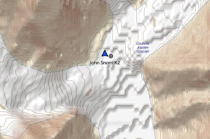 Première tempête au camp de base du K2 pour John Snorri !