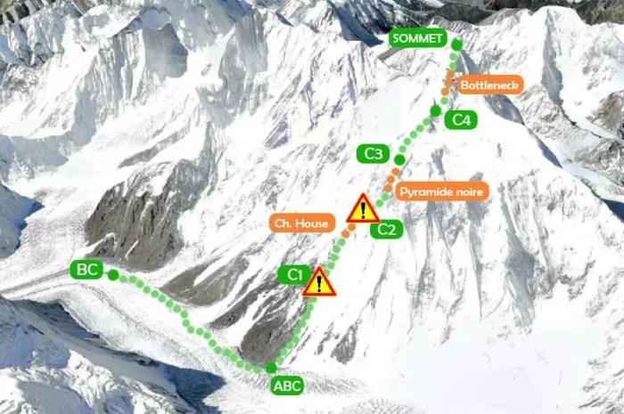Le vent menace les expéditions au K2 : « Si la tente a disparu, nous devrons rentrer à la maison »