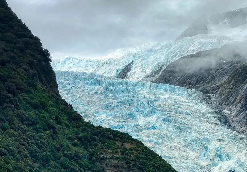 glaciers reculent