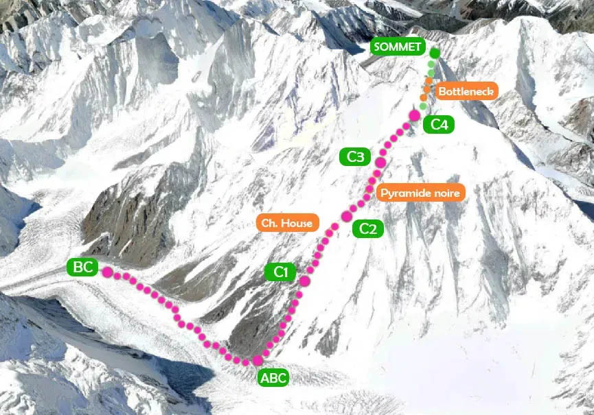 K2 Camp 4 7800m