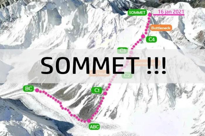 K2 : des alpinistes sont arrivés au sommet en hiver aujourd'hui !